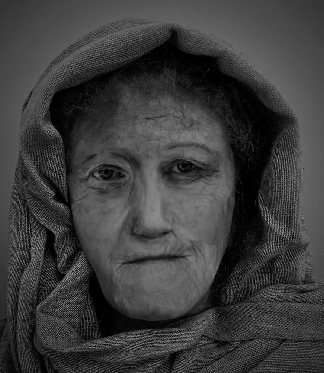 See the Face of Hilda, a Toothless Iron Age Druid Woman