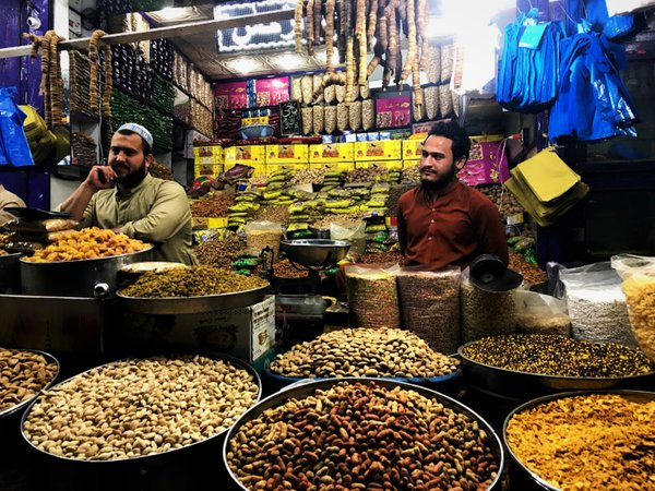 A stall selling nuts and dried fruits thumbnail