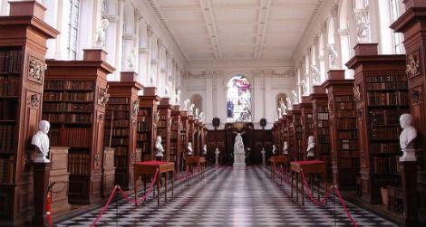 The Wren Library, Trinity College, Cambridge University