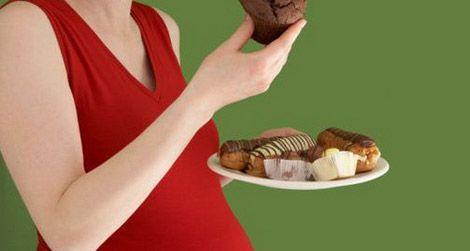 Gestational diabetes is a risk for older pregnant women.