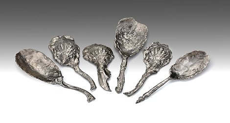 Jeffrey Clancy's misshapen spoons