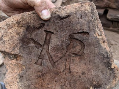 """The letters """"IMP""""stand for imperator,meaning the tile maker was """"supplying tiles fit for the emperor""""or """"on the emperor's demands."""""""