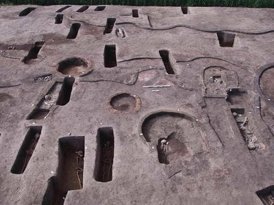 The burials span three eras of ancient history, from the predynastic period to the reign of the Hyksos dynasty.