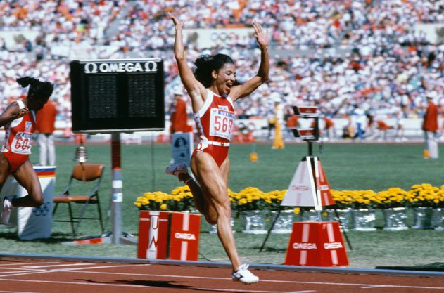 Florence Griffith-Joyner Flo-Jo, Track and Field