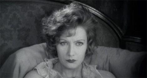 Greta Garbo in Flesh and the Devil