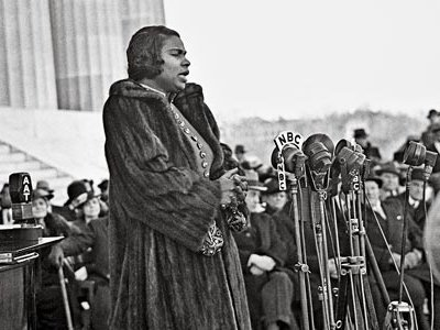 Robert Scurlock covered Marian Anderson's performance at the Lincoln Memorial after she was denied the stage at Washington's Constitution Hall.