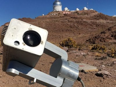 This telescope located in Cerro Tololo, Chile is just one of many within the MicroObservatory Robotic Telescope Network.