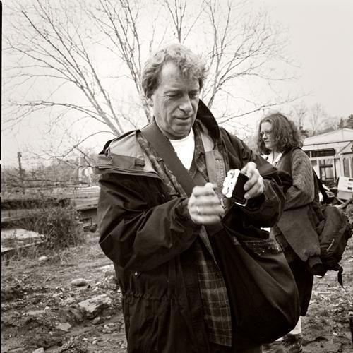 William Wegman photographed by Roy Adkins
