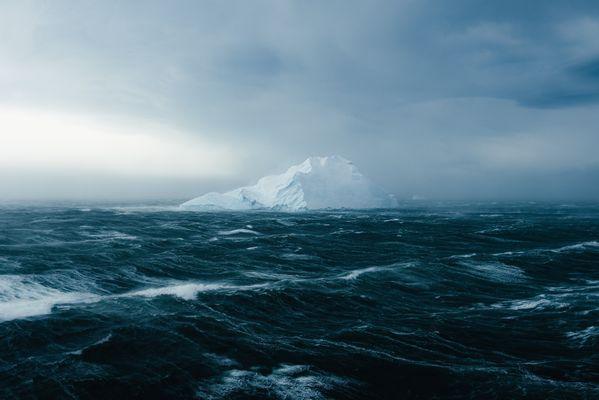 An Iceberg Endures an Antarctic Gale thumbnail