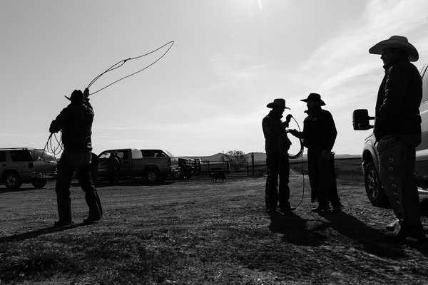 Wranglers Preparing for Cattle Branding Day thumbnail
