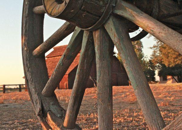 Through the Wagon Wheel thumbnail