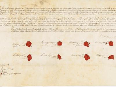 Ratified Indian Treaty 37: Eel River, Wyandot,Piankashaw, Kaskaskia, and Kickapoo—Vincennes, Indiana Territory, August 7, 1803