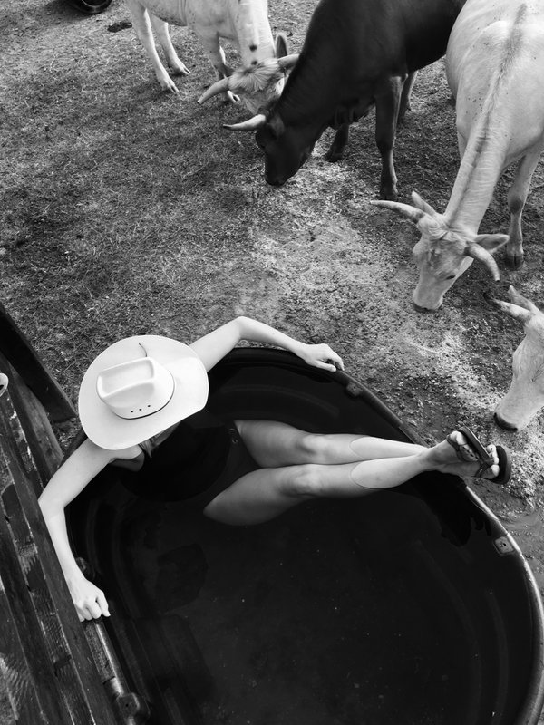 Farm Girl Swimming Pool thumbnail