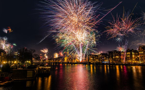 Celebrating the New Year in Amsterdam thumbnail