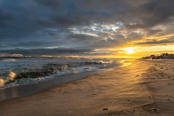 """The Hamptons"" Beach Sunset thumbnail"