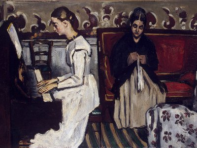 The Overture to Tannhäuser: The Artist's Mother and Sister, 1868, Hermitage Museum, St. Petersburg