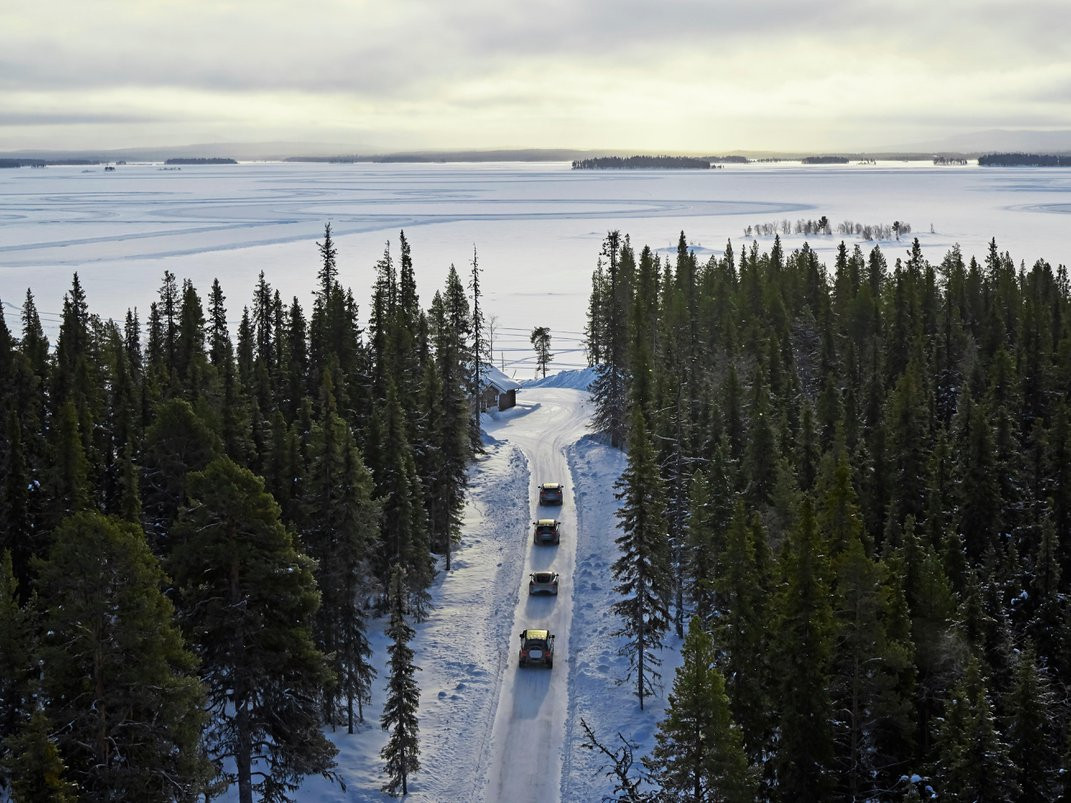 Why Automakers Flock to This Small Swedish Town Every Winter