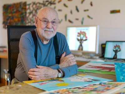 Carle wrote and illustrated dozens of books over six decades.