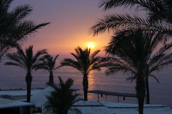 Sunset on Vulcano island thumbnail