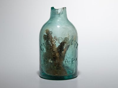 Witch bottles, or talismans designed to ward off evil spirits, were more commonly employed across the pond in the United Kingdom.