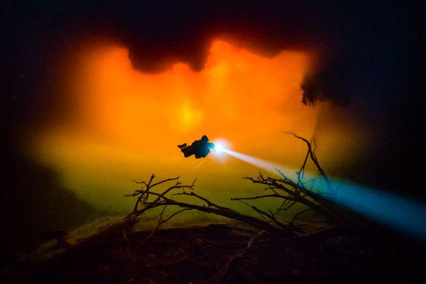 Diving through fire thumbnail