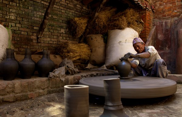 A Pottery Artist in Nepal thumbnail