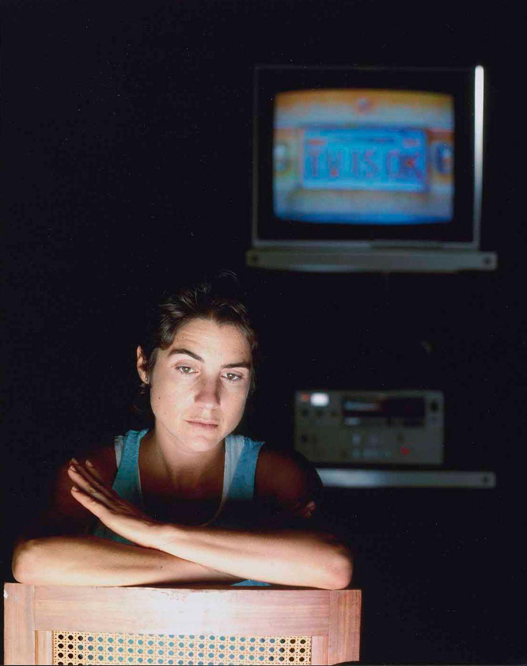 Photographic portrait of Ilene Segalove