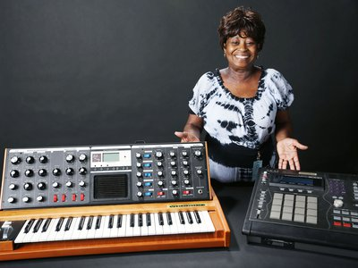 Maureen Yancey donated her late son's Akai MIDI Production Center 3000 Limited Edition (MPC) and his custom-made Minimoog Voyager synthesizer to the Smithsonian's National Museum of African American History and Culture.