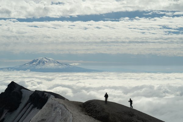 Mount Adams from Mount St. Helens thumbnail