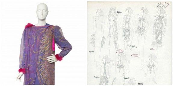For Perusing Pleasure, Zandra Rhodes' New Online Fashion Archive