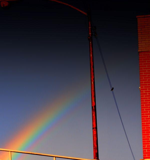 Rainbow over Chicago Il 2008 thumbnail