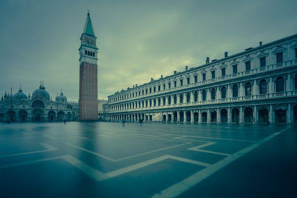 Aqua Alta St Mark's Square Venice thumbnail