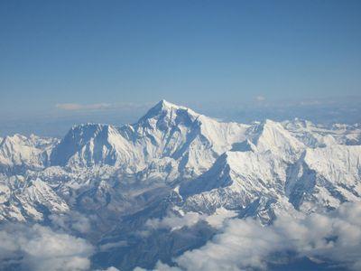 The world's highest-altitude peak is called Sagarmatha in Nepal and Chomolungma in Tibet.