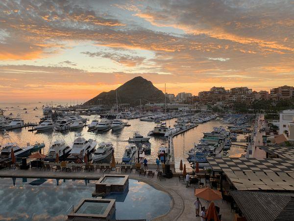 Cabo San Lucas sunrise before fishing thumbnail