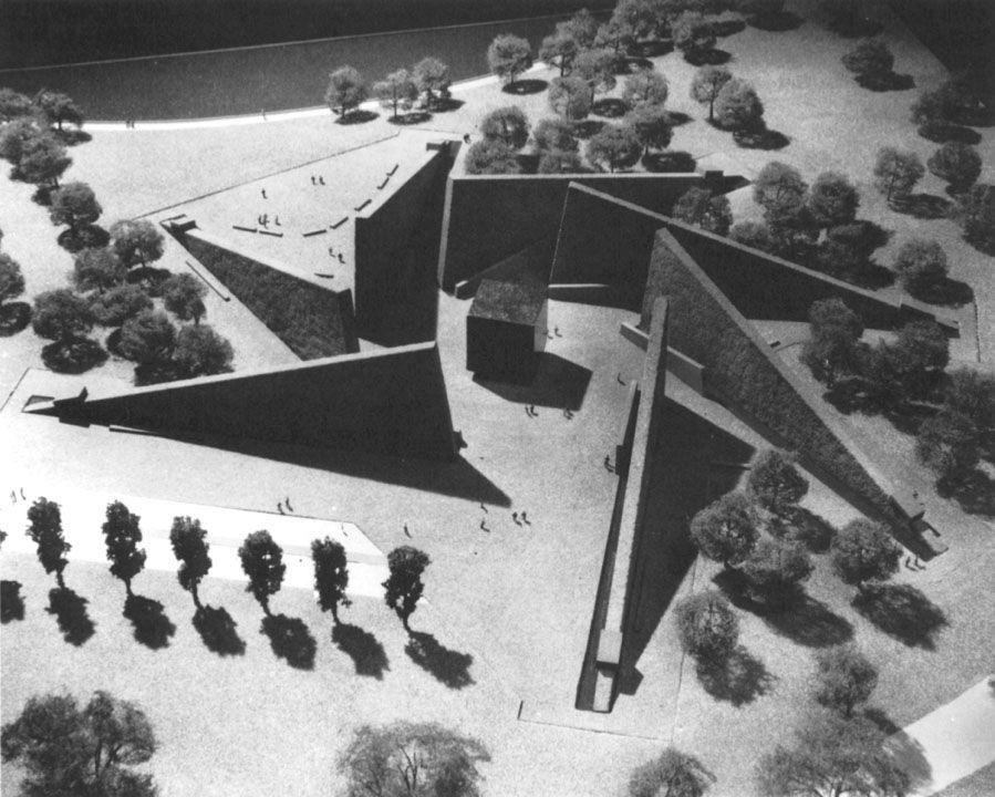 Marcel Breuer's proposed Roosevelt Memorial