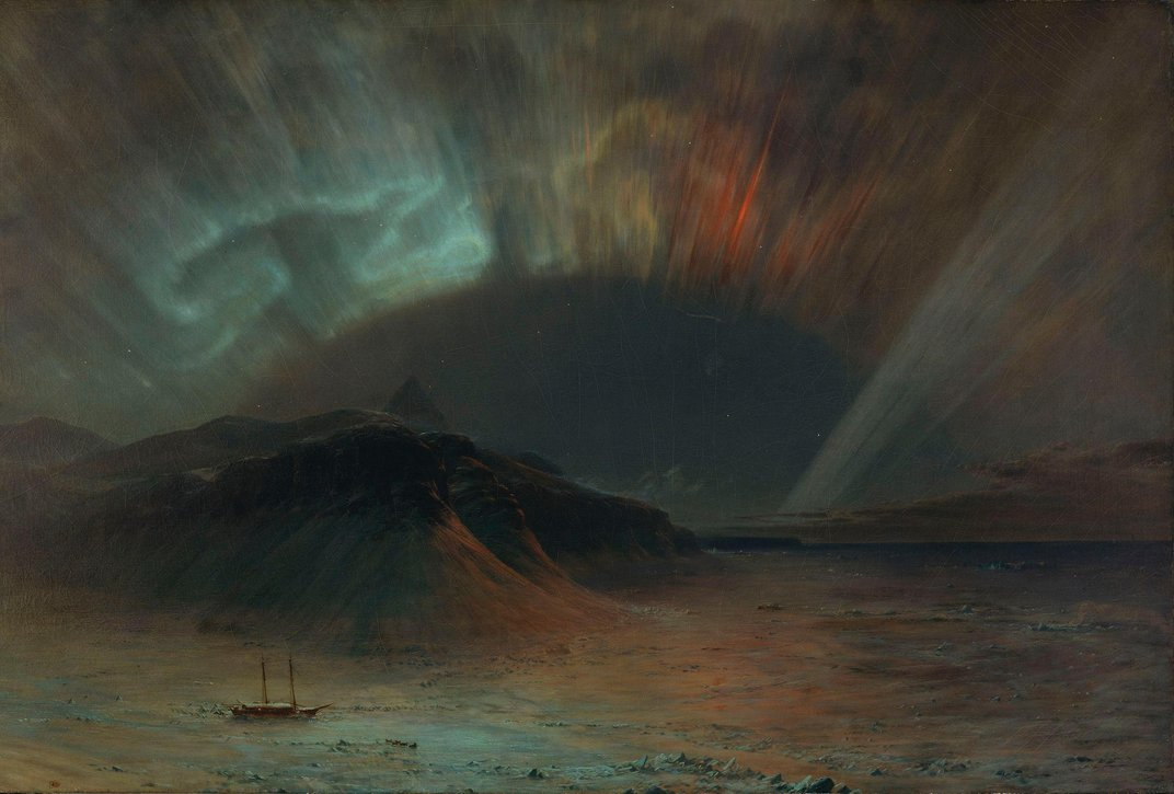 Did the Northern Lights Play a Role in the Titanic's Demise?