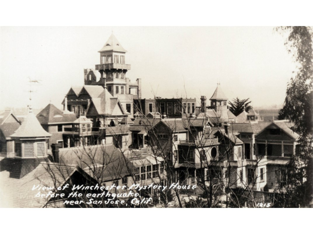 The Heiress to a Gun Empire Built a Mansion Forever Haunted by the Blood Money That Built It