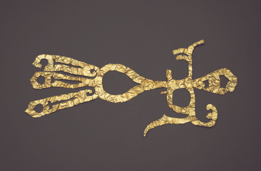 3,000-Year-Old Gold Mask, Silk Linked to Enigmatic Civilization Found in China