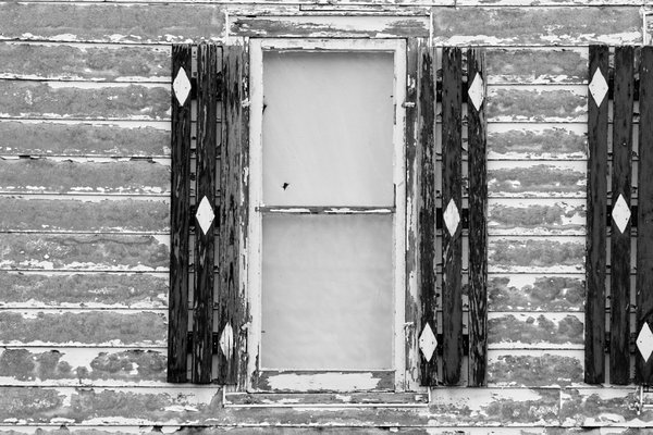 Farm house window in Canandaigua, New York thumbnail