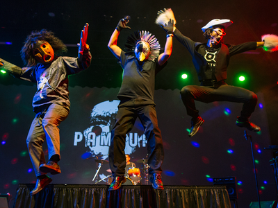 The Inuit drum-dance group Pamyua will perform in Washington, D.C. and New York City.