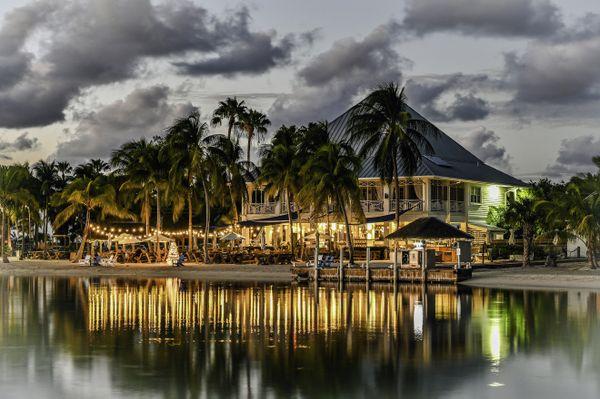 Christmas at the Kaibo restaurant in Grand Cayman thumbnail