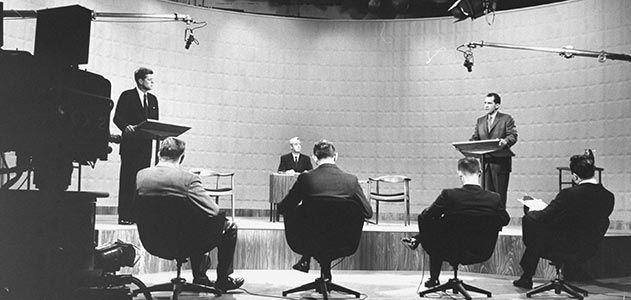Kennedy Nixon television presidential debate