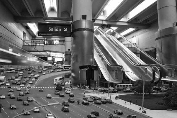 Surreal subway station thumbnail
