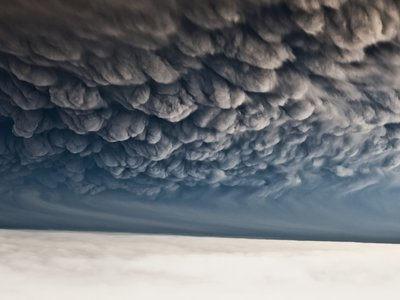 Clouds of ash from the 2011 Grímvötn eruption in Iceland