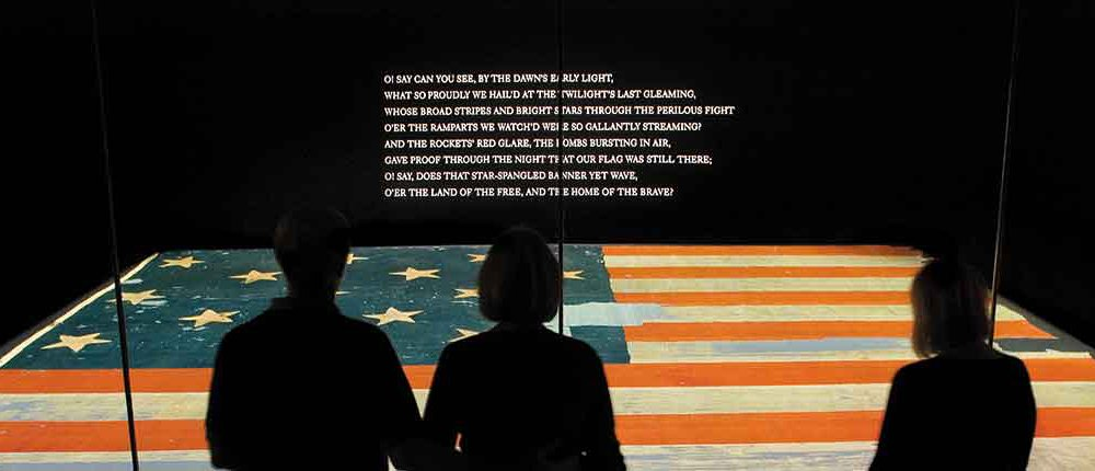 Family Viewing Star-Spangled Banner