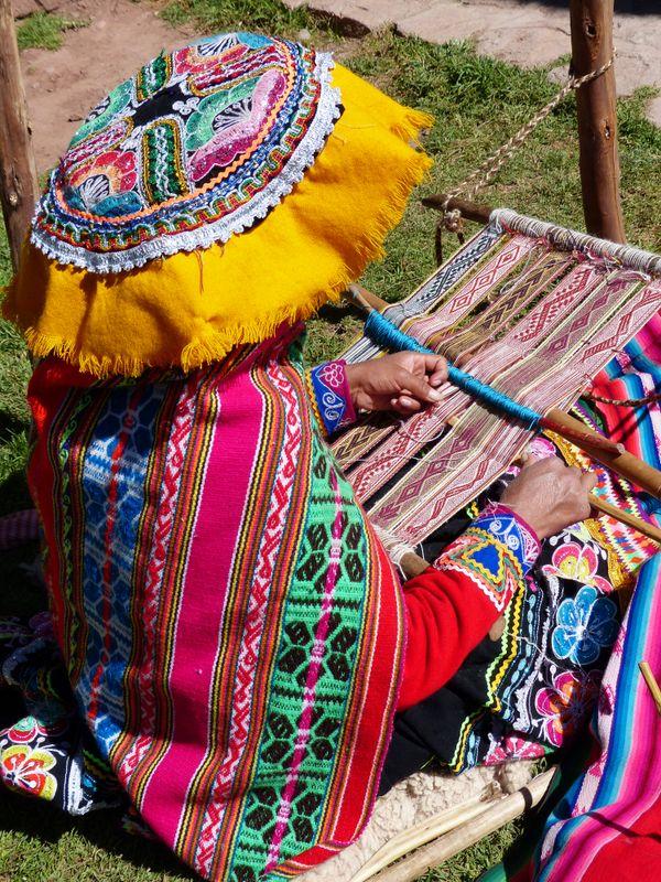 Peruvian weaver thumbnail