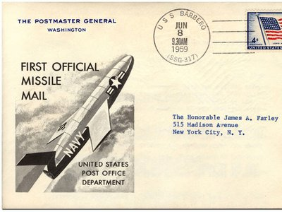 Some of the 3,000 commemorative letters sent in the first Postal Department rocket mail are still around. Some made it into the National Postal Museum's collection.