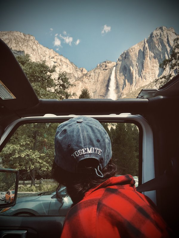 Yosemite from a Jeep's view thumbnail