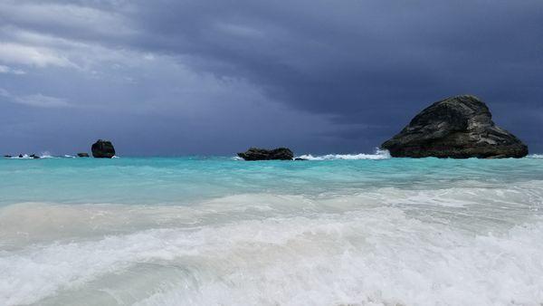 Bermuda under leaden skies. thumbnail