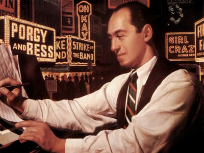 """Composer and pianist George Gershwin, whose 1924 composition """"Rhapsody in Blue"""" entered the public domain on January 1, 2020"""